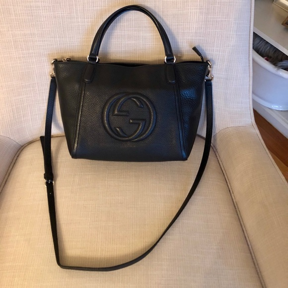 05b6759ab994 Gucci Bags | Soho Convertible Top Leather Tote | Poshmark